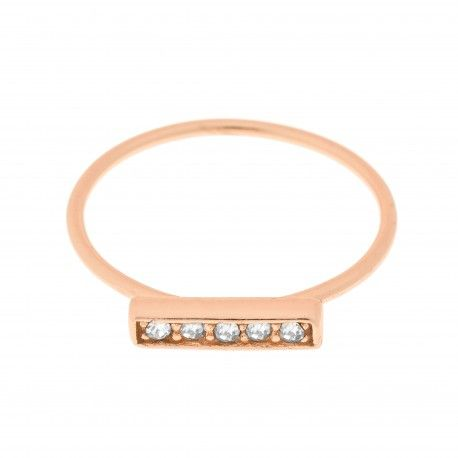 Queen Rose Gold Ring