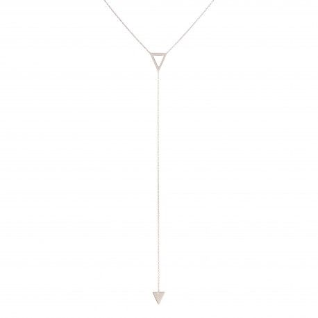 Triangle Silver Necklace